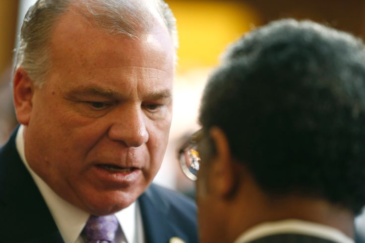 The race for New Jersey governor took a surprise turn Thursday when Senate President Steve Sweeney announced he would not seek the Democratic nomination in 2017.