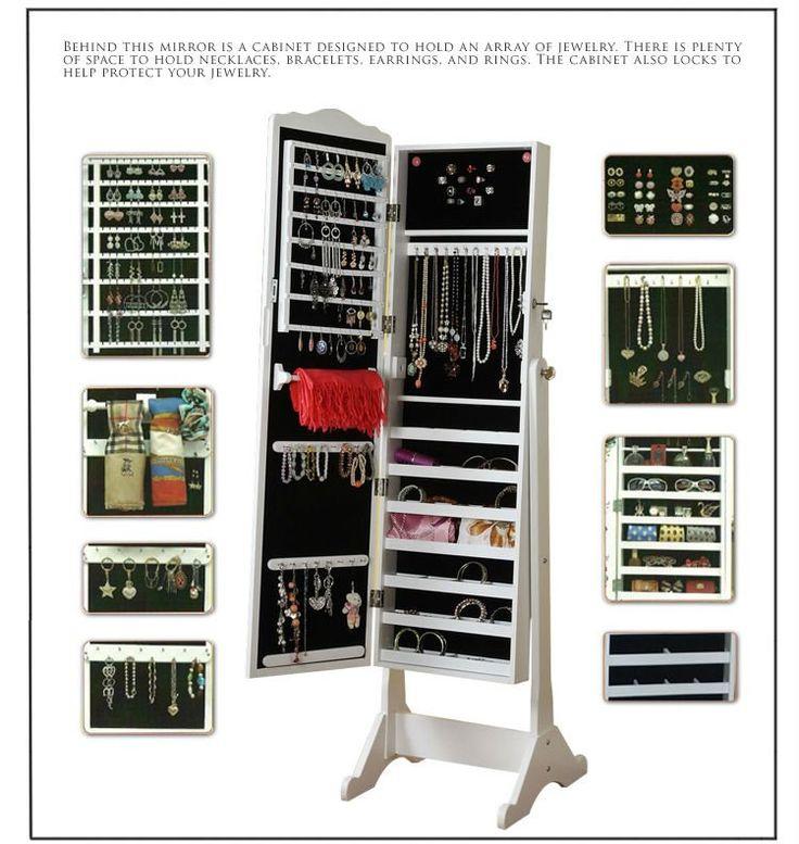 Les 25 meilleures id es de la cat gorie armoire bijoux for Meuble a bijoux mural