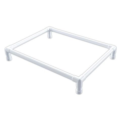 25 best ideas about pvc dog bed on pinterest dog cots elevated dog bed and cheap cat beds - Cots for small spaces plan ...