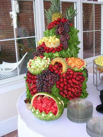 YUM!!!!!!! Fruit tower