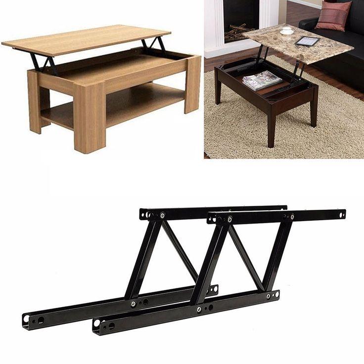 1 par Lift Up mesa de centro superior bisagras Hardware de bricolaje de muebles montaje de mecanismo de la primavera para muebles para el hogar herramientas(China (Mainland))