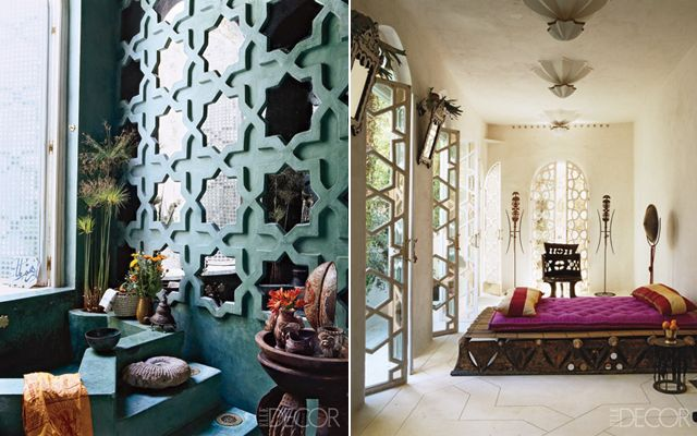 Several years ago designer Liza Bruce and her husband discovered an abandoned Moroccan riad in the Ourika Valley, just 20 miles south of Marrakech, and turned into their dream getaway. And what a dream it is . . .