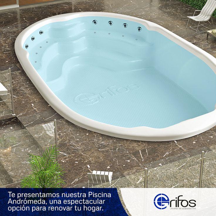 Te presentamos nuestra piscina Andrómeda, una espectacular opción para renovar su hogar! #UniversoDeAcabados