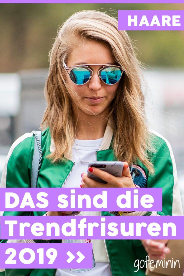 Trendfrisuren 2019: DIESE Frisuren sind aktuell in Mode!