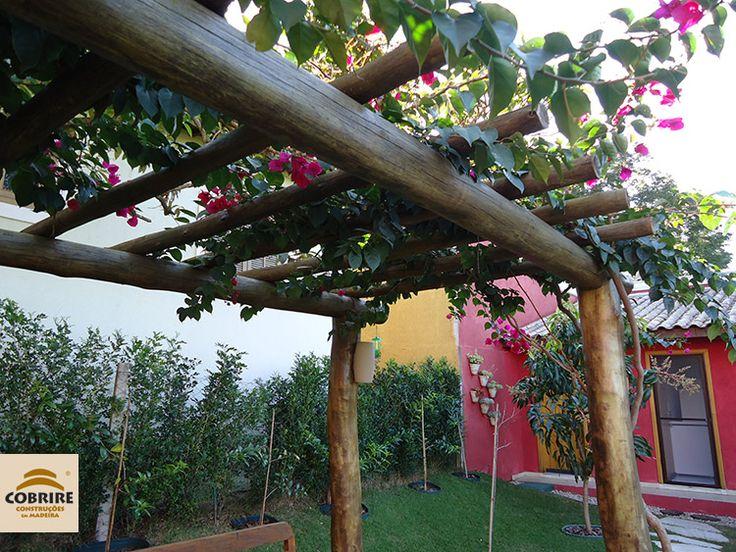 Pergolado de eucalipto tratado em autoclave madeira for Autoclave tratado jardin cobertizo