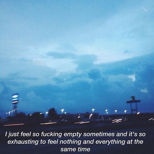 Grunge quotes Basically how it feels to have depression and anxiety
