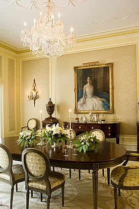 17 best ideas about antique dining rooms on pinterest
