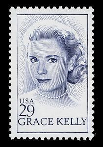 Grace Kelly was a Girl Scout! The US Postal Service and the Principality of Monaco jointly issued commemorative stamps on March 24, 1993, in Hollywood, California, and Monaco, to honor Grace Kelly, Academy Award-winning American actress and princess of Monaco.