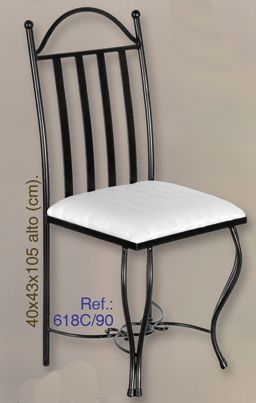 Silla de forja  #silla, #forja, #muebles, #hierro, #forjado