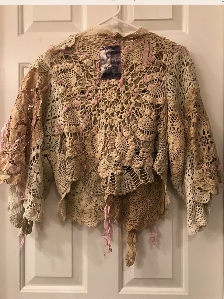 Authentic Magnolia Pearl Vintage Lace Jacket. Old and rare with tons of intricate detail. One of a kind beautiful piece. Excellent condition.   eBay!