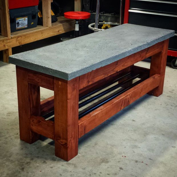 Modern Concrete Benches: Pictures Of, Modern Bench And
