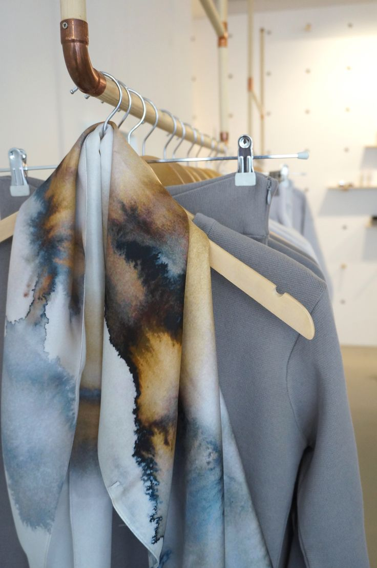 Jaspis silk scarf at The She Store