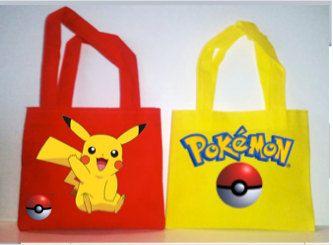 "POKEMON, POKEMON GO Party Favors Bags, Pokemon Party Favors, Pokemon bags, 6""X7"" by picturesweet on Etsy"