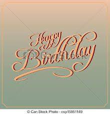 Resultado de imagen para feliz cumpleaños lettering