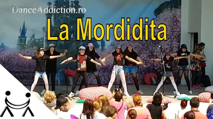👫 Ricky Martin -  La Mordidita | Easy Dance Choreography for Kids