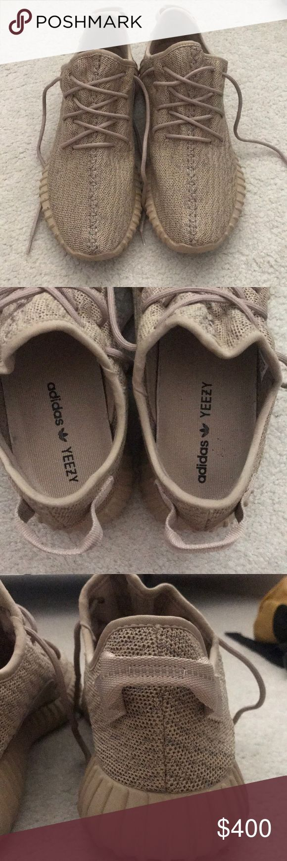 Yeezy v1 Oxford tans Lightly worn. 8/10 condition. Price firm. Will ship out next day. adidas Shoes Sneakers