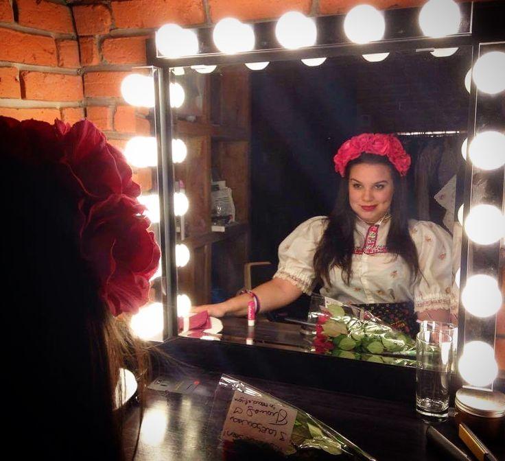 Slovak folklore burlesque act