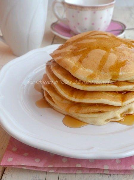 Ricetta pancakes dolci