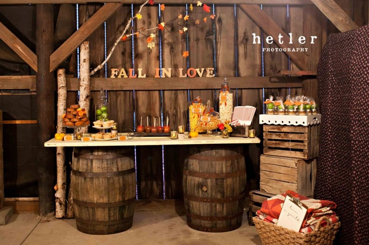 Whiskey Barrel Display Table Weddings Pinterest