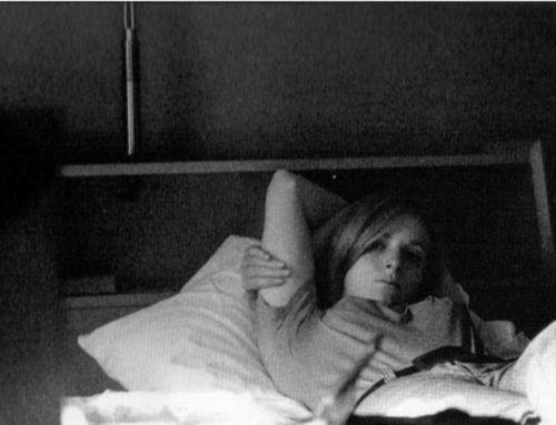 Photograph of Linda McCartney, taken by Jim Morrison, 1967.