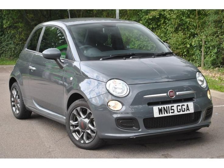 2015 Fiat 500 1.2 S 3dr Air/Alloys/Sport Seats Petrol Grey Manual