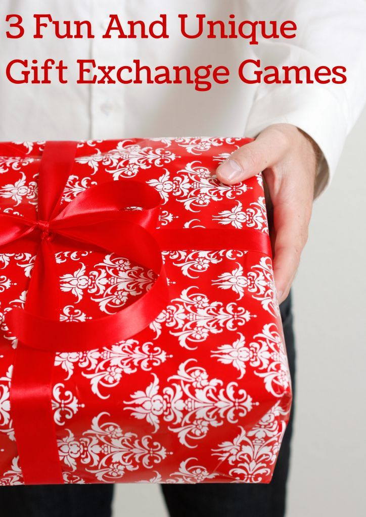 These three fun gift exchange games are perfect to change things up at your holiday party this year!