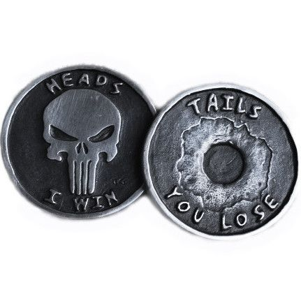 Punisher Challenge Coin