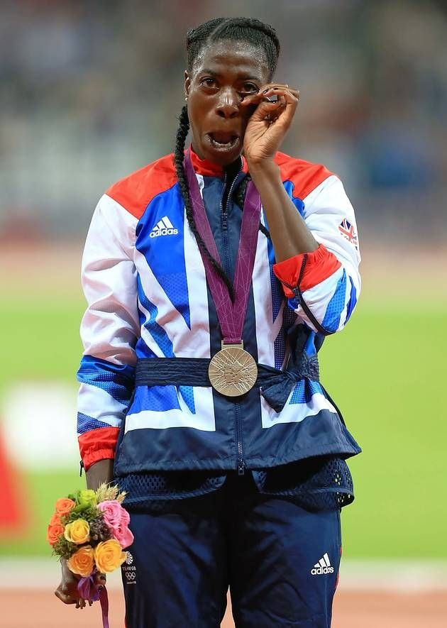 Christine Ohuruogu-2nd 400m. Great Britain.