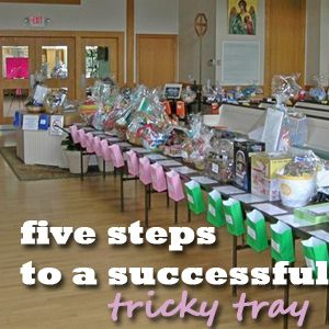 try these five steps to a successful tricky tray