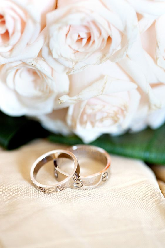 my wedding bands (His/Hers) - Cartier, LOVE Collection