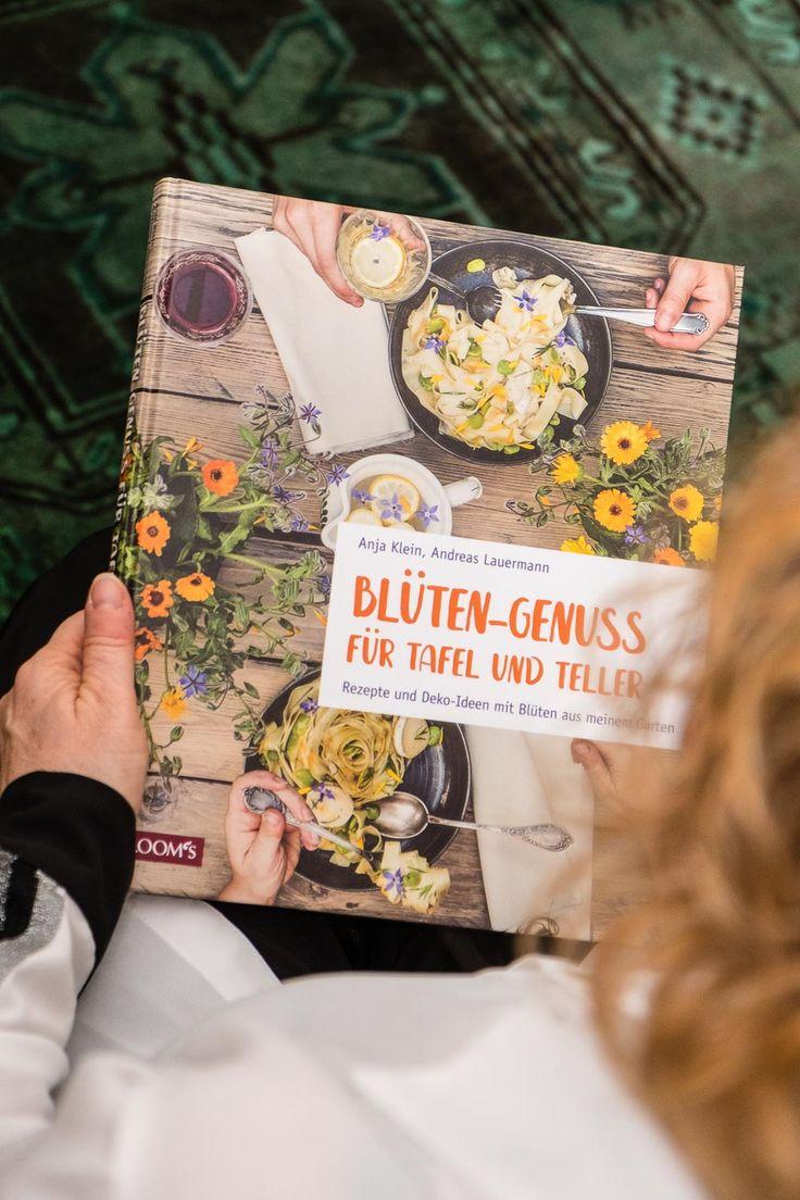 Buchvorstellung: Blüten-Genuss für Tafel und Teller – Rezepte, Deko, Tipps