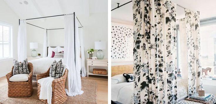 Decorar el dormitorio con camas con dosel - http://www.decoora.com/decorar-dormitorio-camas-dosel/