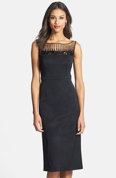 Superb Monique Lhuillier cocktail dress