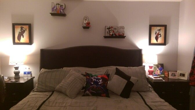 Harley Quinn And Joker Themed Bedroom New House