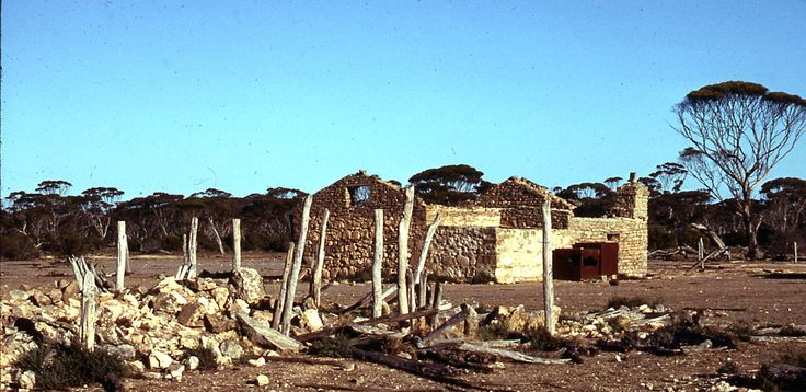 Remains of womens' cottage at Balbinia.