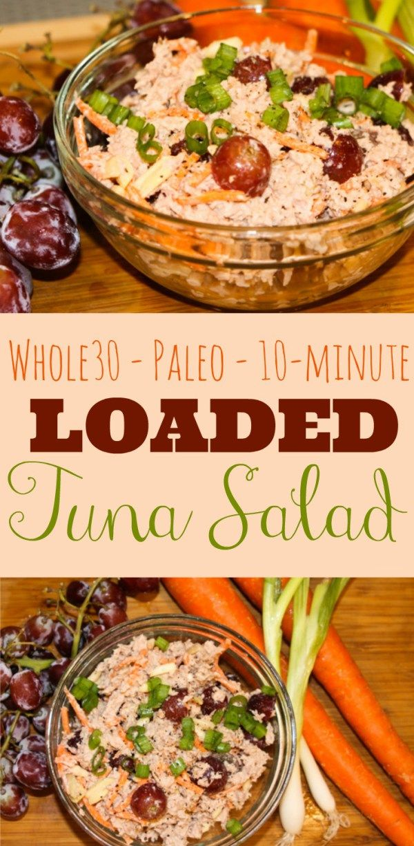 Loaded Whole30 & Paleo Tuna Salad