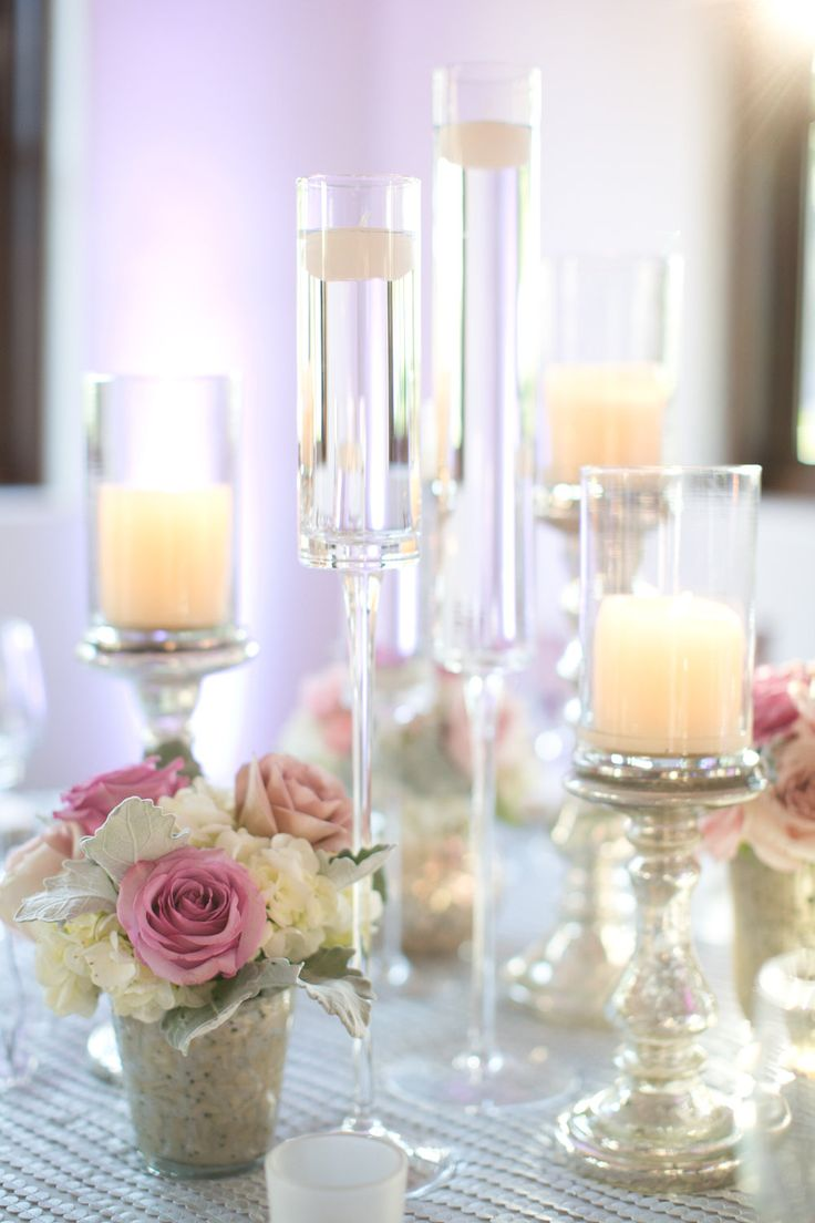 Incorporating wedding candles into your decor and details is not only easy, but looks incredibly elegant.