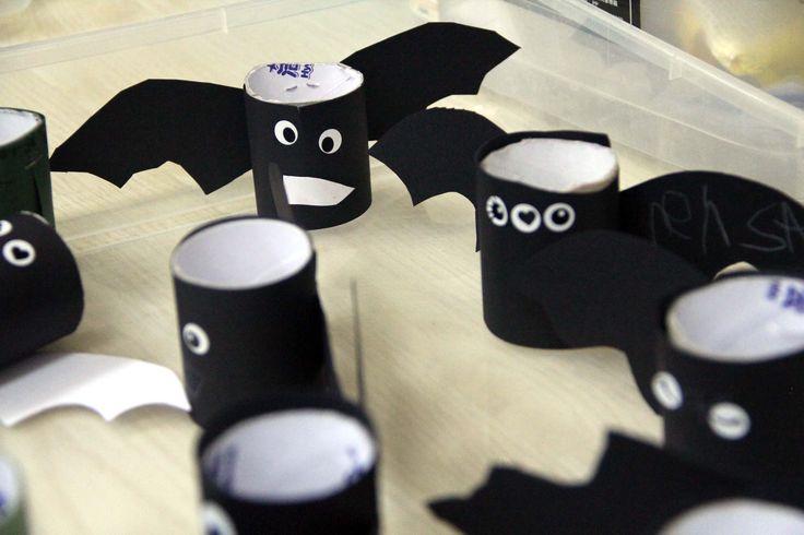 Creative Halloween decorations @ECE's Halloween celebrations (Oct, 2015)