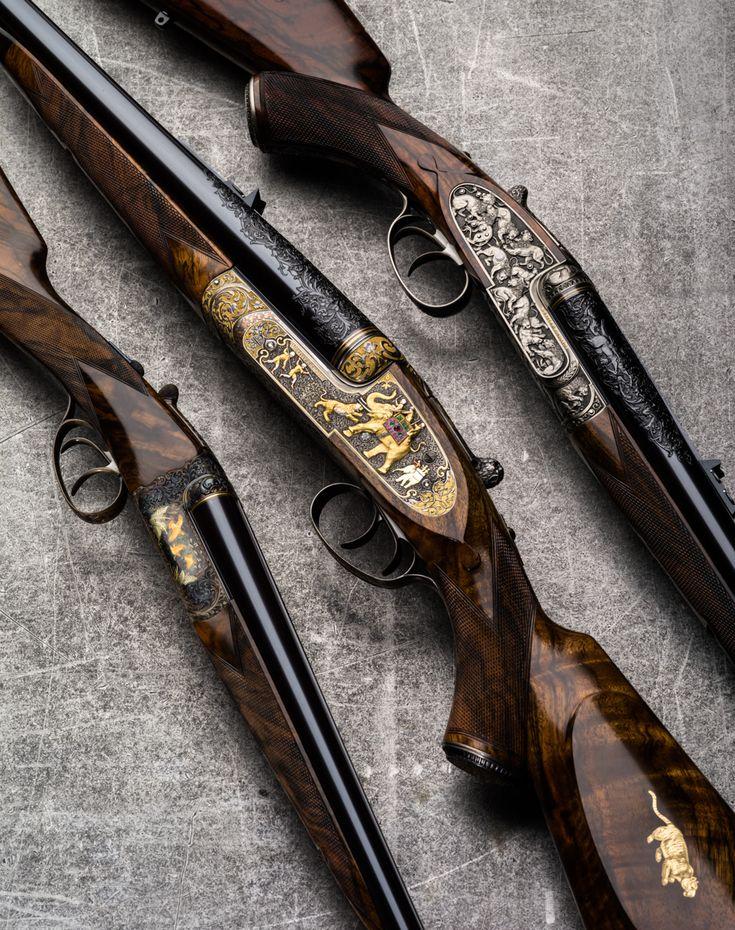 Westley Richards Rifles and Shotgun