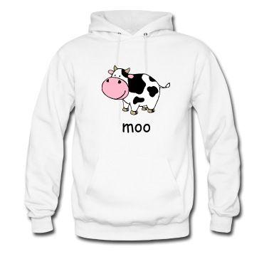 A cute cartoon cow image.