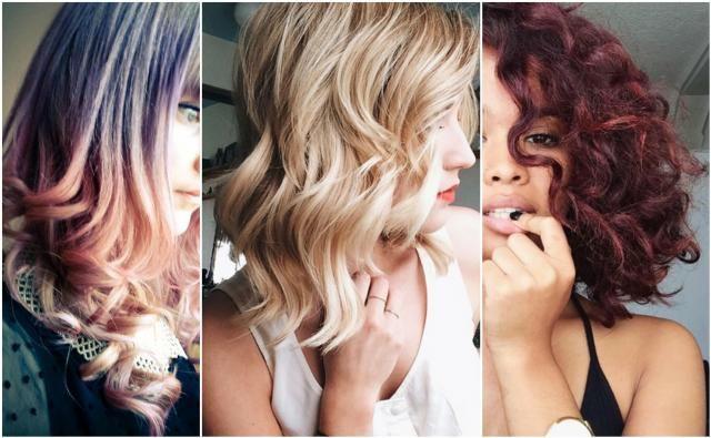 Inspiracje: Fryzury półdługie kręcone #włosy #fryzury #kręcone #półdługie