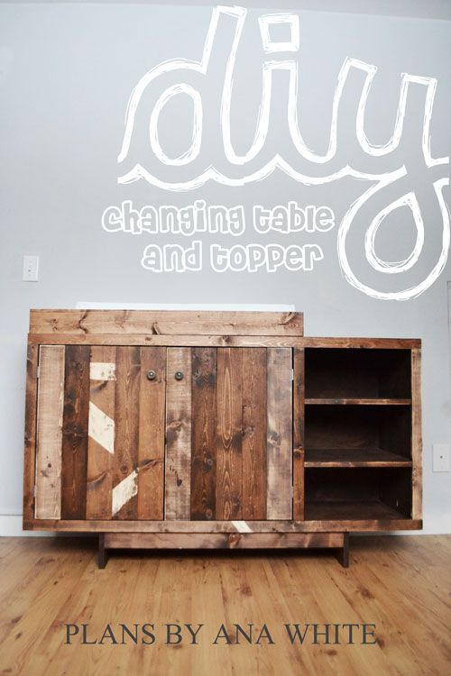 Ana White | Build a Emerson Changing Table Topper | Free and Easy DIY Project and Furniture Plans