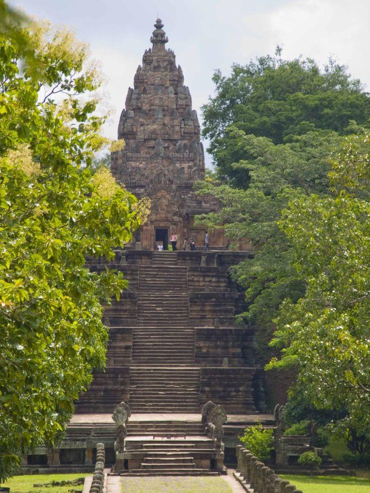 Shiva temple Prasat Phanom Rung, Thailand