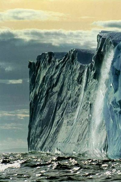 Iceberg in Labrador, Canada - National Geographic | October 1993
