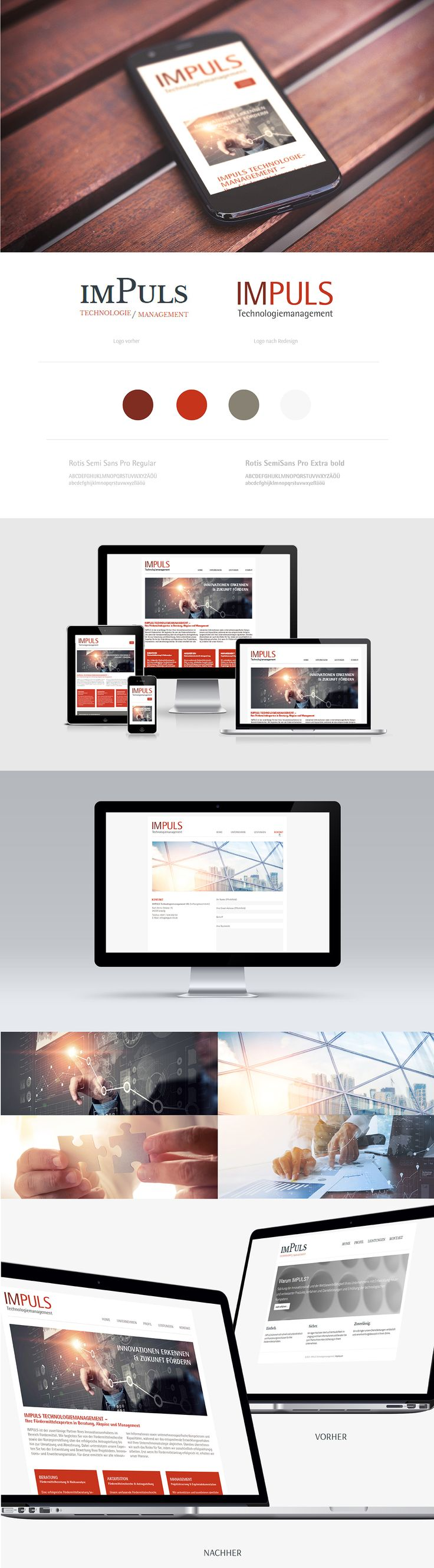 Zitronengrau Leipzig Webdesign Impuls Technologiemanagement Logodesign