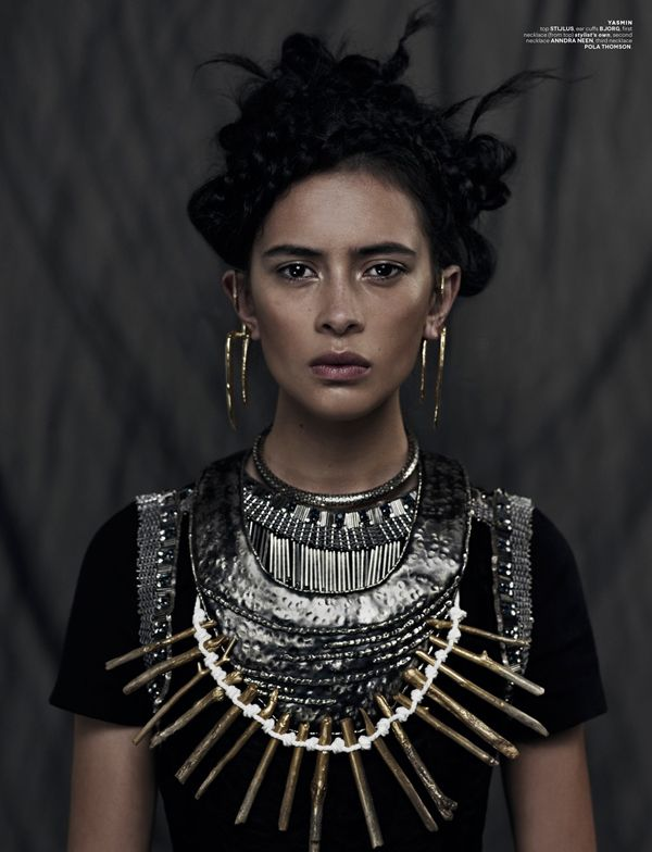 """Wahine"" ( warrior princess) Charlene Almarvez & Yasmin Bidois by Xi Sinsong for the ones 2 watch"