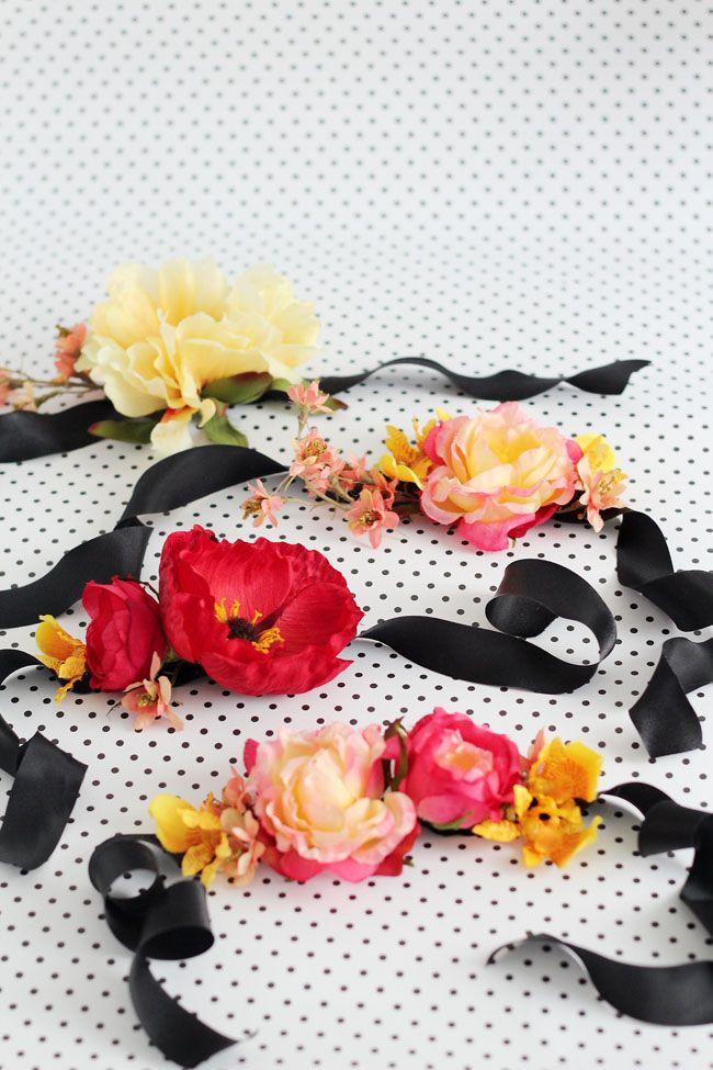 Diy Silk Flower Corsage Social Committee Pinterest Corsage