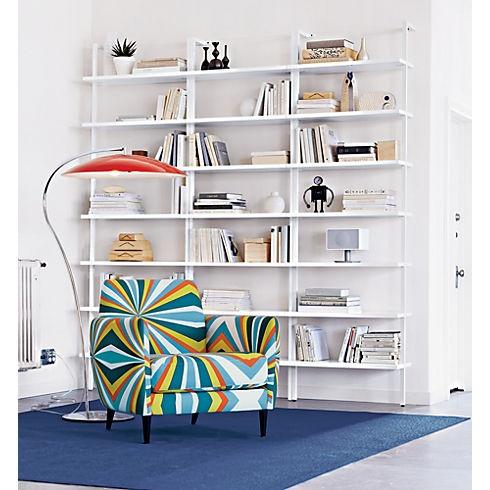 white lacquer bookshelf 2