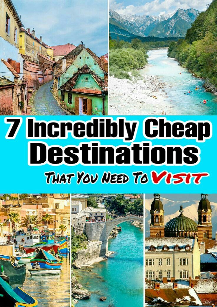 7 Incredibly Cheap Destinations,That You Need To Visit!