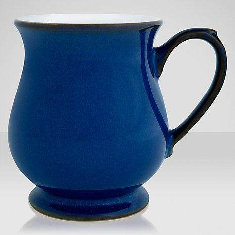 Buy Denby Imperial Blue Craftsmans Mug Online at johnlewis.com
